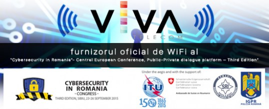 "VIVA Telecom – furnizorul oficial de WiFi al ""Cybersecurity in Romania – Central European Conference, Public-Private dialogue platform – Third Edition"""